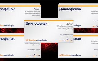 Диклофенак при лечении цистита