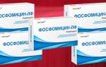 Правила применения Фосфомицина