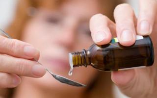 Капли в лечении цистита