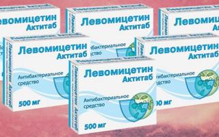 Применение Левомицетина при цистите