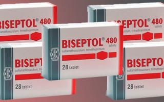Инструкция для применения Бисептола при цистите