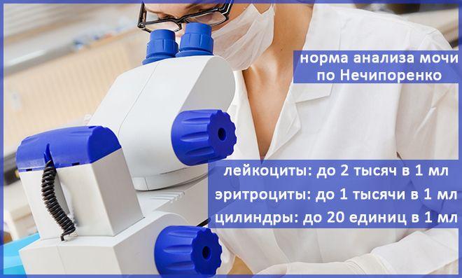 по Нечипоренко