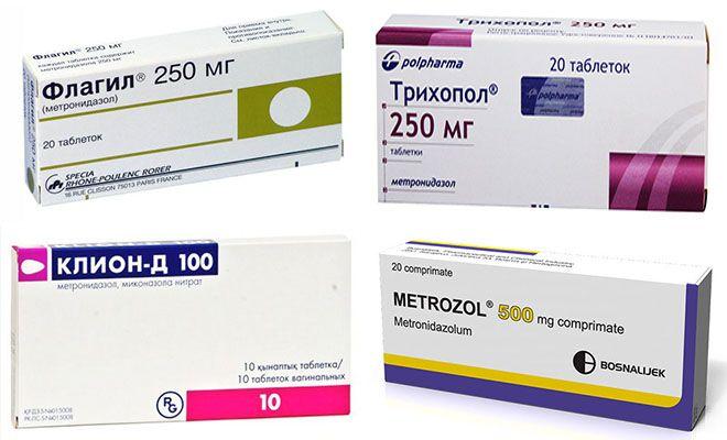 Противомикробные средства Метронидазол