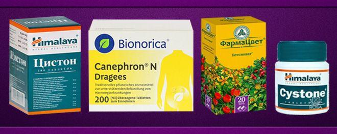 растительные диуретики
