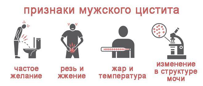 Цистит у мужчин определяем симптомы начинаем лечение